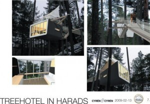 Treehotel in Harads (Source:www.treehotel.se)